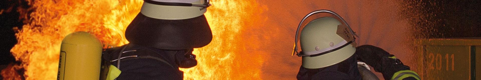 Banner Kameraden im Feuer